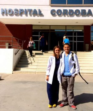 Jacob Perlson with CFHI at Cordoba Hospital in Argentina